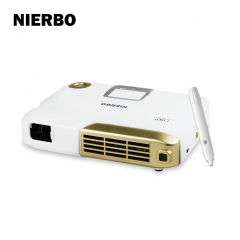 NIERBO HC40 4K Interactive Portable Projector Full 3D LED DLP Android Wifi Projector for School Office Education