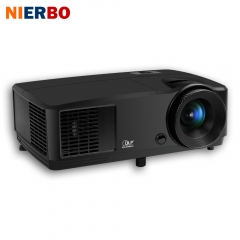 NIERBO HD930 7000 lumens Projector Native Resolution 1024*768 DLP Tech 203W lamp 10000:1 Contract Ratio HDMI VGA Support 1080P Active Shutter 3D