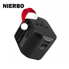 NIERBO TP31 Travel Adapter Overseas Charger US/EU/AU/UK Plugs Suit 150+ Countries