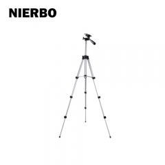 NIERBO 3110 Mini Camera Tripod with Phone Holder Flexible Height Adjustable Aluminum Portable Tripod for Phone Selfie