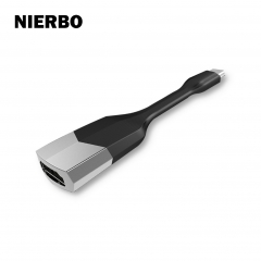 NIERBO USB C to HDMI Adapter, 4K Type C to HDMI USB 3.1 Type C to HDMI Adapter for Galaxy Note 8 S8 S3 Surface 2017/2016 MacBook Pro, MacBook