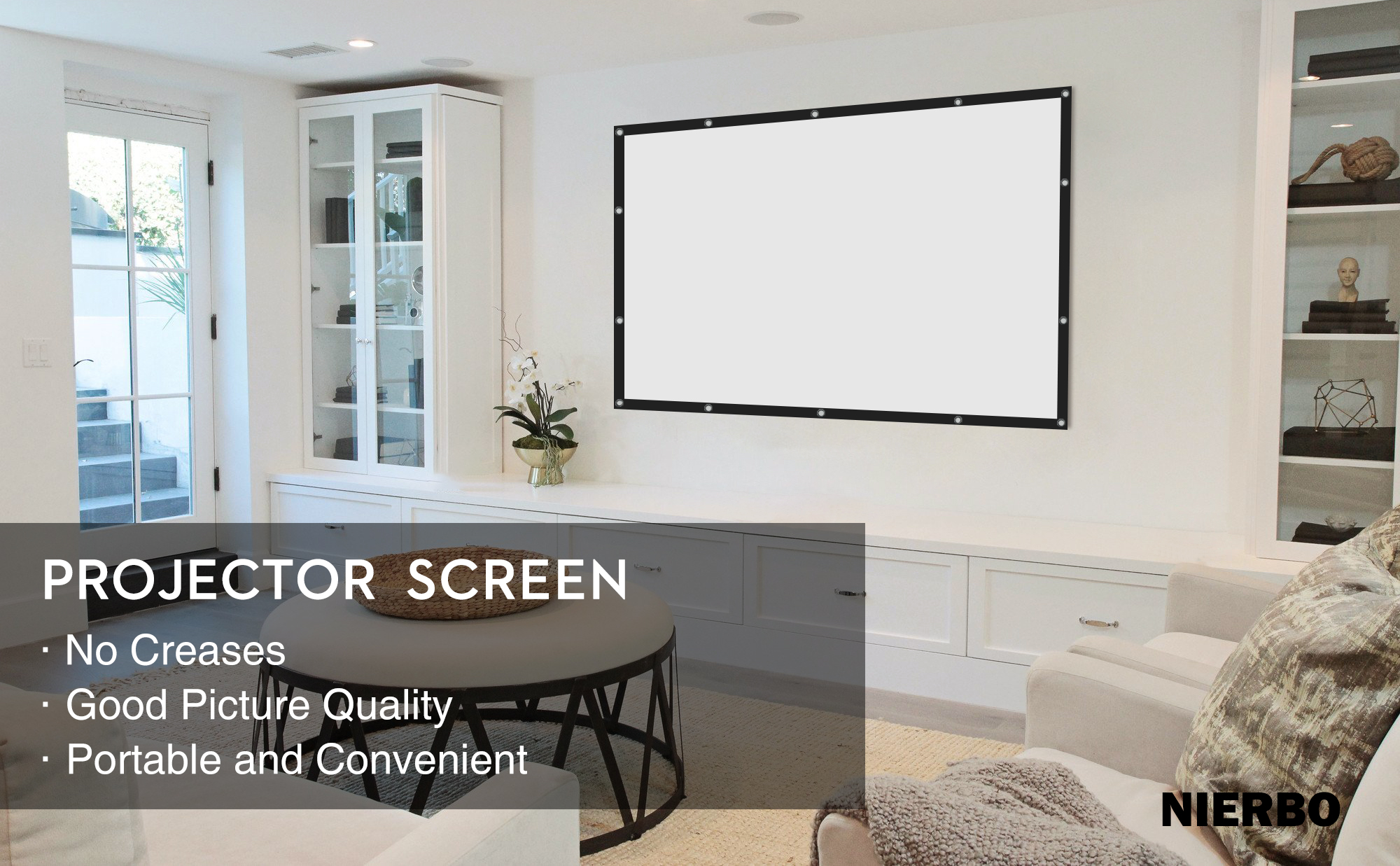 Roll up Projector Screen