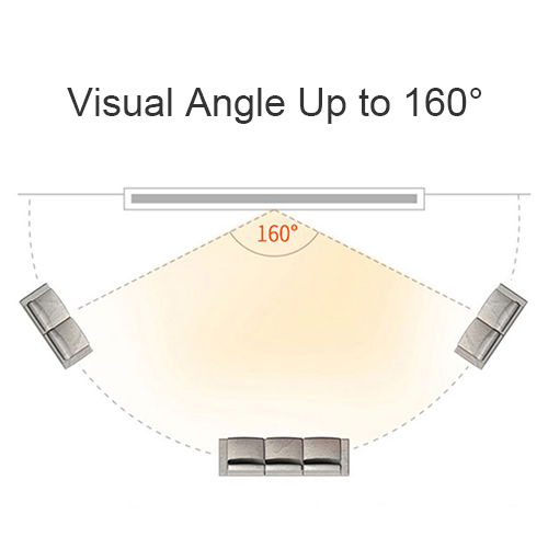 Wide Visual Angle Tabletop Projector Screen